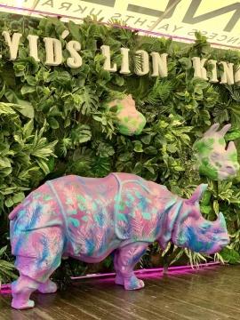 Носорог цветастый