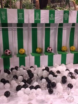 Футбольная раздевалка
