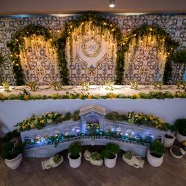 ITALIAN Wedding. Freshness of lemon