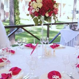 Малиновая свадьба - фото 12