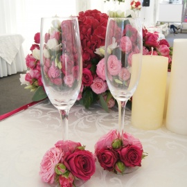 Малиновая свадьба - фото 14