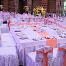 Персиковая свадьба - фото 6