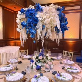 Classic Deep Blue wedding - фото 10