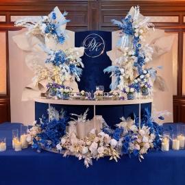Classic Deep Blue wedding - фото 9