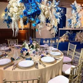 Classic Deep Blue wedding - фото 11