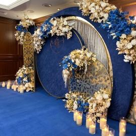 Classic Deep Blue wedding - фото 16