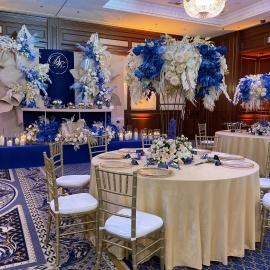 Classic Deep Blue wedding - фото 12