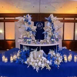 Classic Deep Blue wedding - фото 8