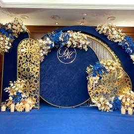 Classic Deep Blue wedding - фото 15