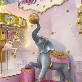 Pink&Gold Circus