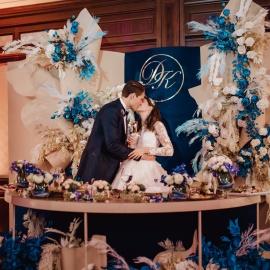 Classic Deep Blue wedding - фото 13