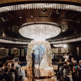 Classic Deep Blue wedding