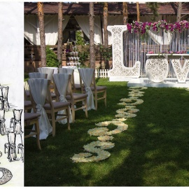 Ягодная свадьба - фото 13