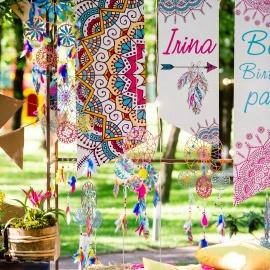 Boho Birthday Party - фото 4