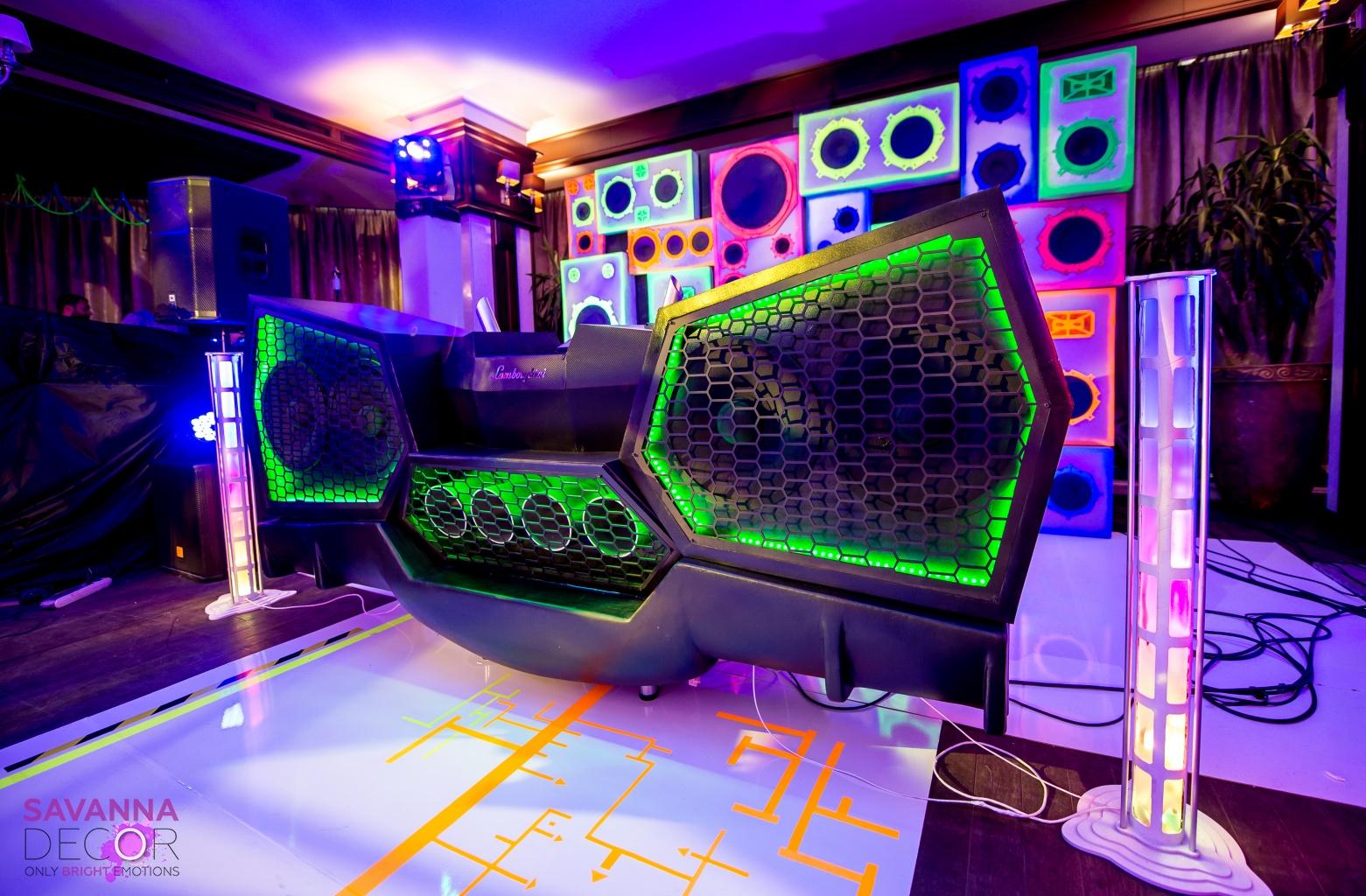 DJ установка