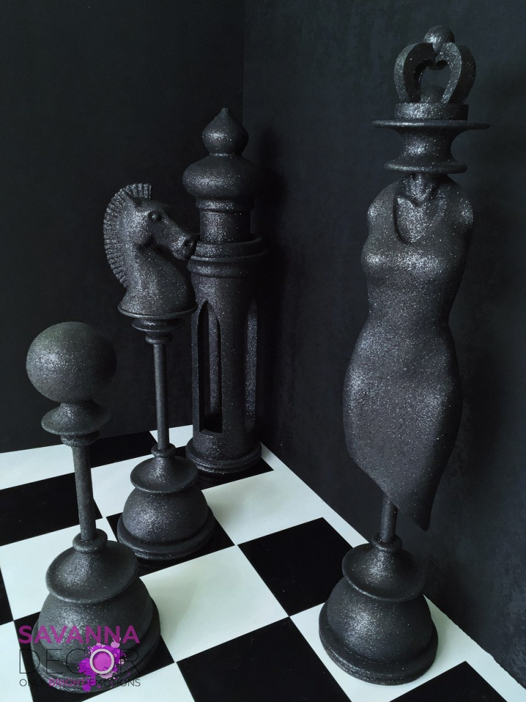 "Фотозона ""Шахматная доска"""