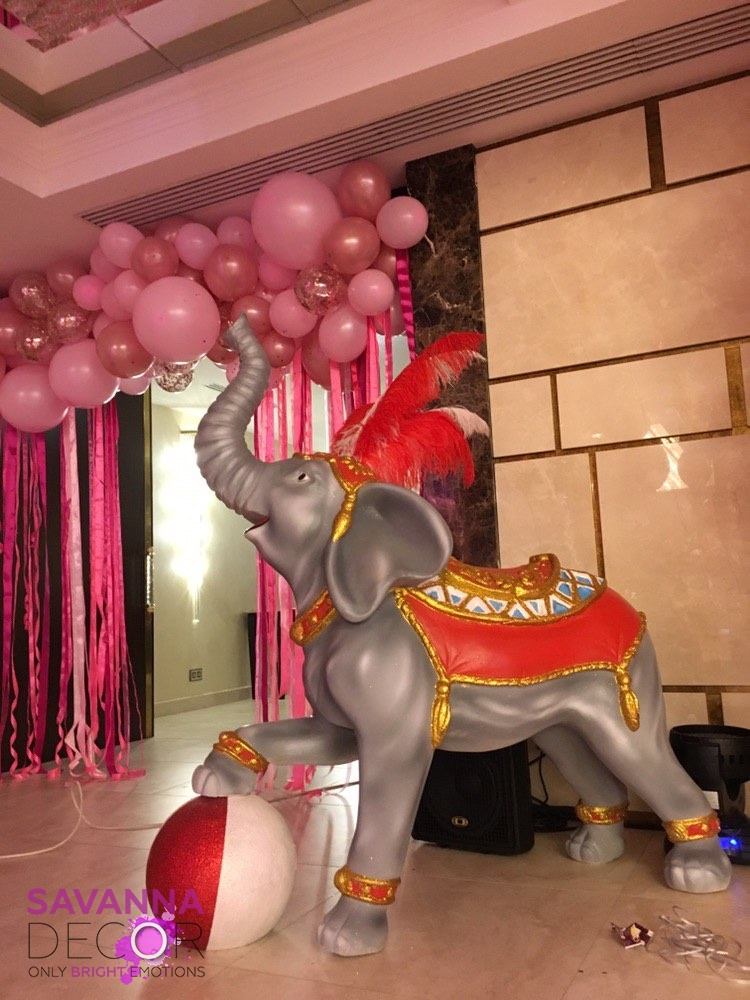 Цирковой слон