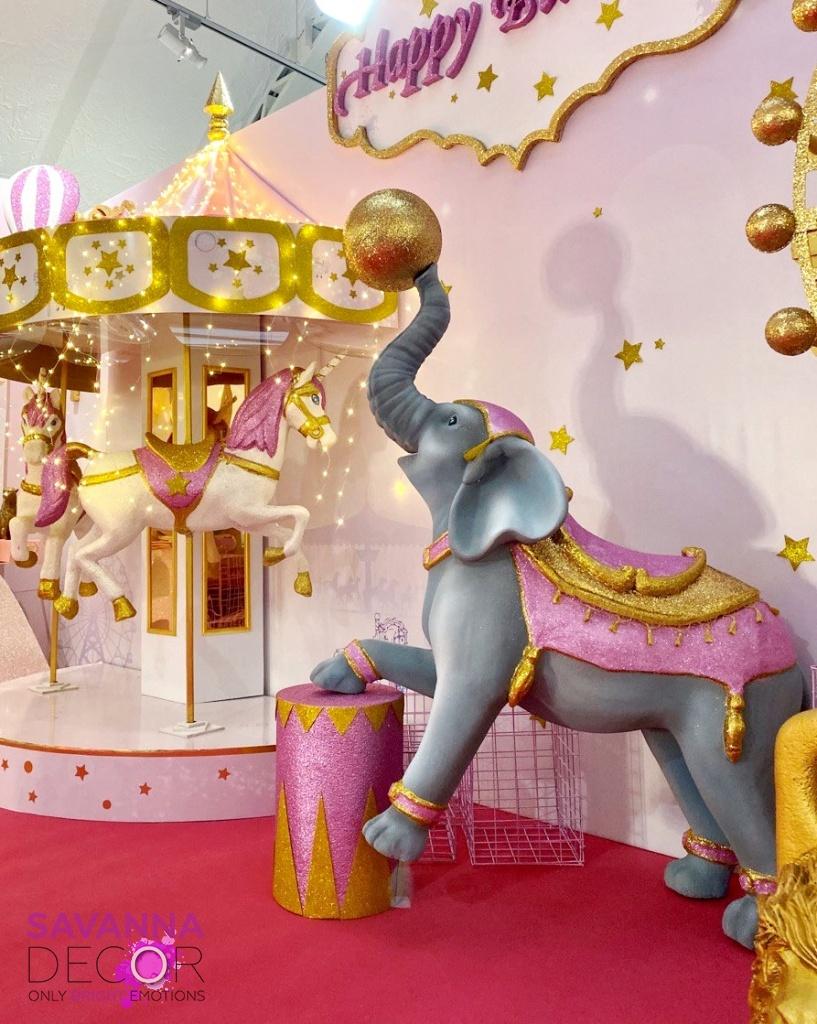 Цирковой слоник