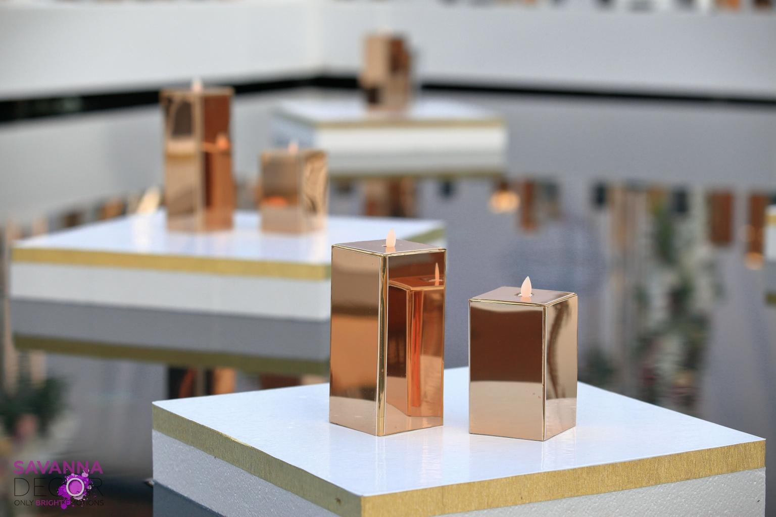 Плаваючі підставки під композиції, свічки