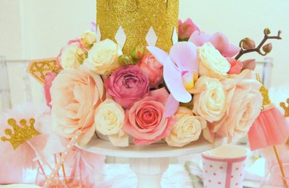 """День народження в стилі """"Казка принцеси"""""""