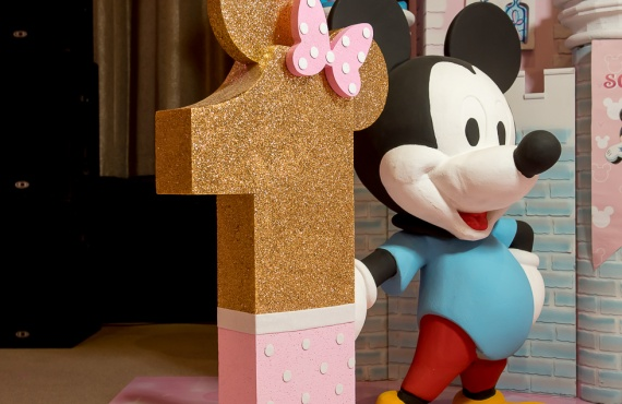 Mini Mouse First Year Party